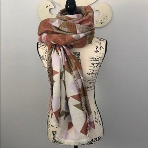 Madewell Patchwork Quilt Jacquard Scarf